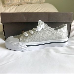 Other - Silver Glitter Shoes